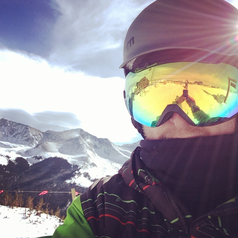 Grayne Goggles Selfie