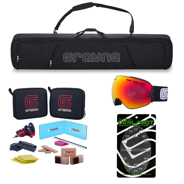grayne Premium Snowboard Accessory Kit