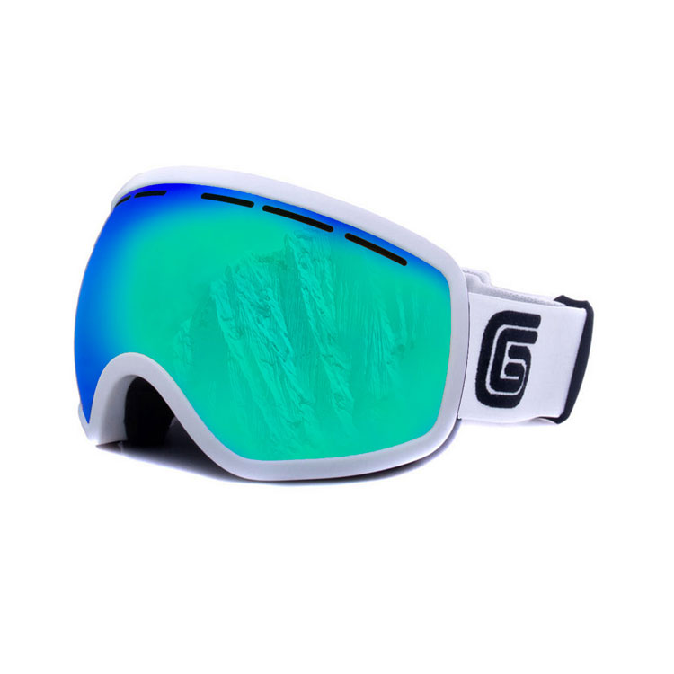 Grayne MTN Whiteout Goggle With Icefall Lens